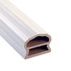 Severe Weather 6-ft White Deluxe Top Rail