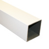 Fiberon White Composite Deck Post Sleeve (Common: 4 x 4; Actual: 4.1-in x 4.1-in)