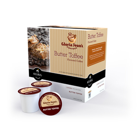 Keurig 18-Pack Gloria Jean's Butter Toffee Single-Serve Coffee 108912