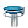 DECOLAV 6-7/8-in H Wall Mounts Polished Stainless Steel Pedestal Sink Base