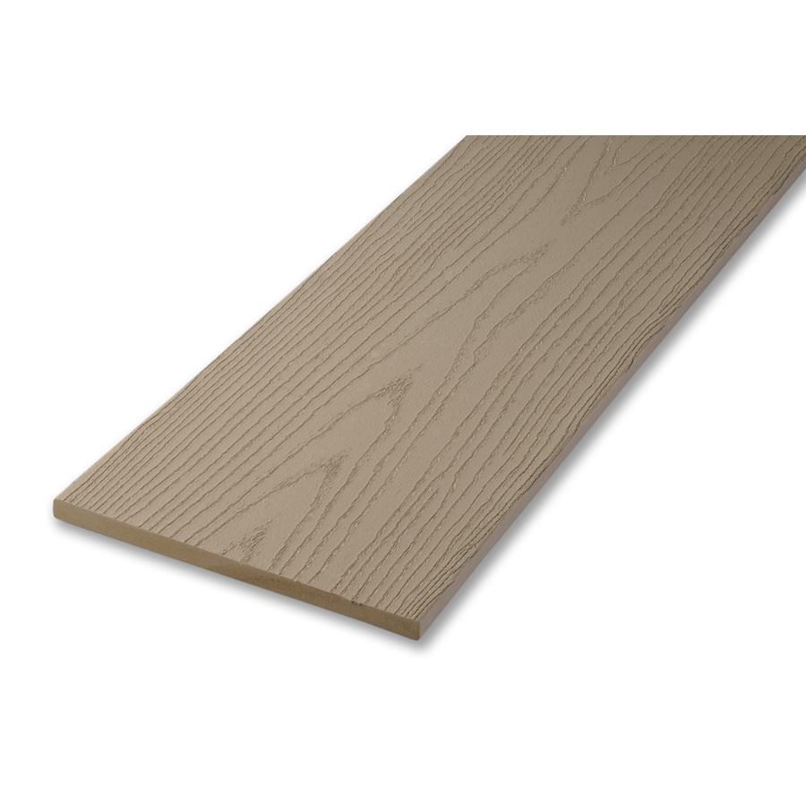 Shop AZEK Clay Composite Deck Trim Board (Actual: 1/2-in x ...