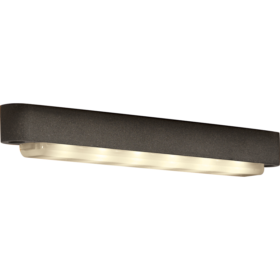 specialty textured bronze low voltage led step deck light at