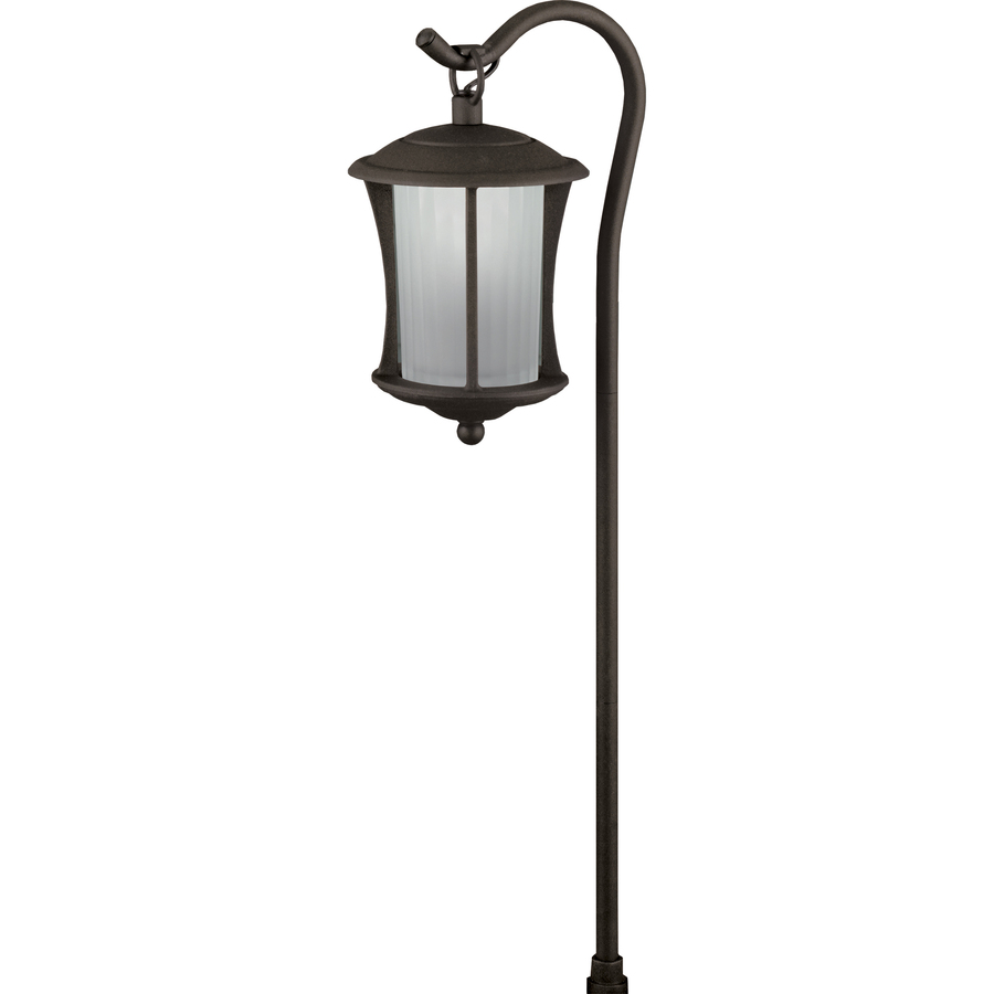 portfolio landscape bronze low voltage led path light at. Black Bedroom Furniture Sets. Home Design Ideas