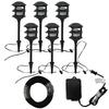 Portfolio Bluetooth Audio 6-Path Light Black Low Voltage 8.5-Watt (11W Equivalent) LED Path Light Kit