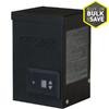 Portfolio 120-Watt 12-Volt Multi-Tap Landscape Lighting Transformer with Digital Timer and Dusk-to-Dawn Sensor