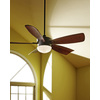 Harbor Breeze Saratoga 60-in Oil-Rubbed Bronze Downrod Mount Indoor Ceiling Fan with Light Kit and Remote