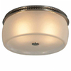 allen + roth 1.5-Sone 90 CFM Brushed Stainless Steel Bathroom Fan with Light