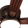 Harbor Breeze Oceanside 52-in Oil Rubbed Bronze Flush Mount Indoor/Outdoor Ceiling Fan with Light Kit
