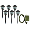 Portfolio 6-Light Bronze Low Voltage Spotlight Kit