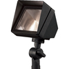 Portfolio Black Low-Voltage Halogen Flood Light