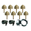 Portfolio 10-Light Copper Low Voltage Path and Spotlight Kit