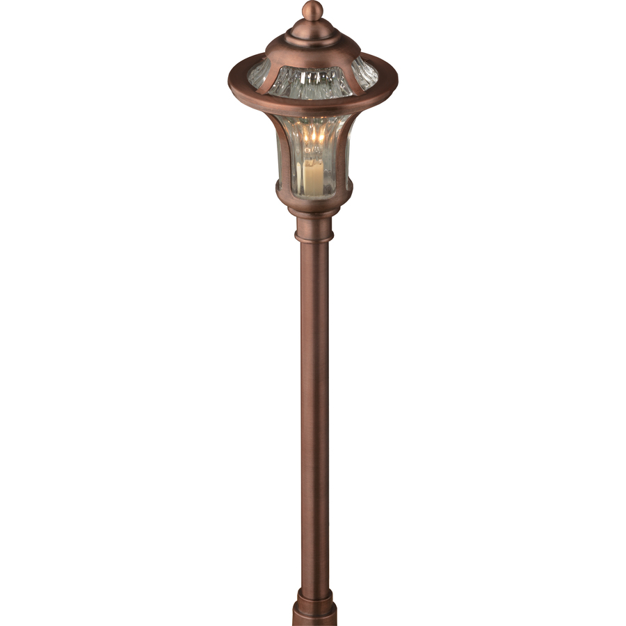 Low Voltage Landscape Lighting Copper : Portfolio landscape copper low voltage path light at