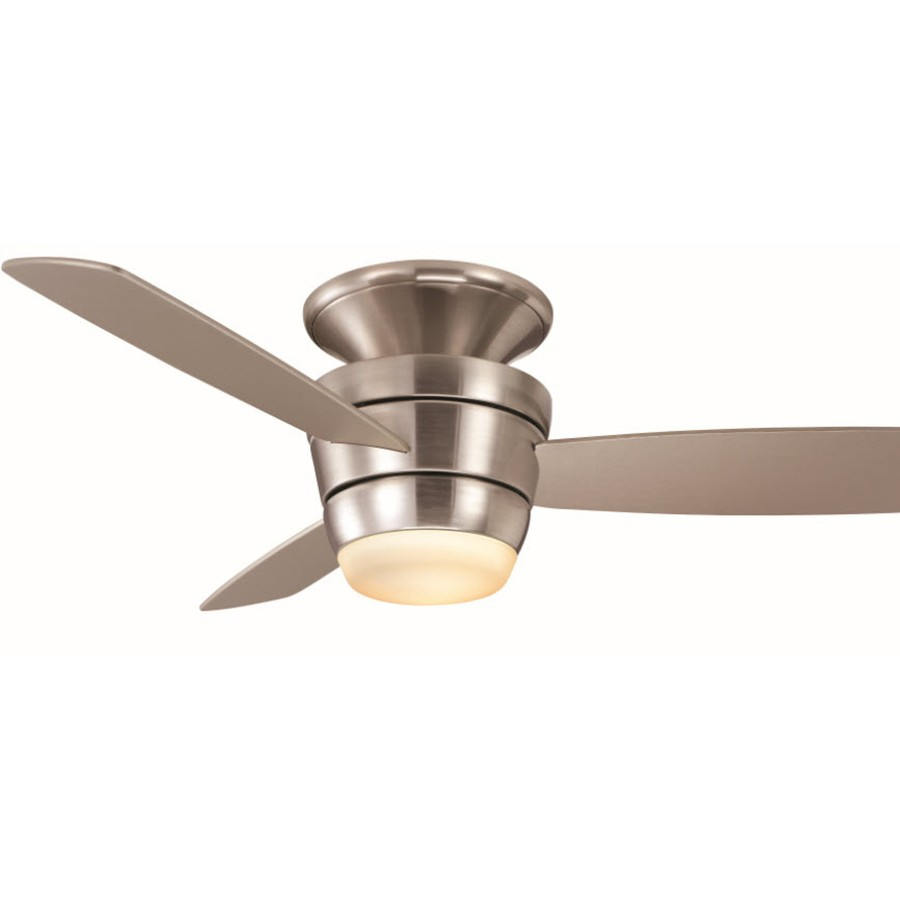 Ceiling fans flush mount with light remote control : Additional images demo