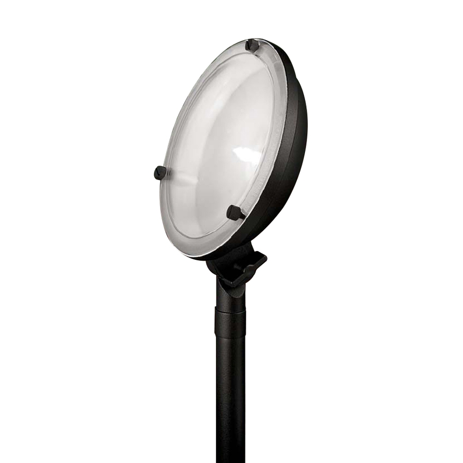 shop portfolio black low voltage halogen flood light at. Black Bedroom Furniture Sets. Home Design Ideas