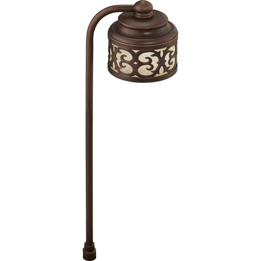 Shop portfolio landscape oil rubbed bronze low voltage led for Volt landscape