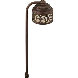 portfolio landscape oil rubbed bronze low voltage led path light. Black Bedroom Furniture Sets. Home Design Ideas