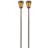 Portfolio 2-Pack Bronze Solar-Powered LED Path Lights