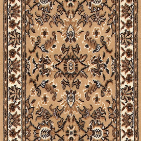 "USFloors 27"" Samira Beige Traditional Runner"