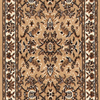 USFloors 2' x 10' Samira Beige Traditional Runner