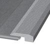 Natural Floors by USFloors 2.2-in x 72-in Tigerwood Threshold Floor Moulding