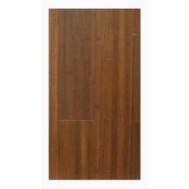 Natural Floors by USFloors Exotic 5.04-in W Prefinished Bamboo Locking Hardwood Flooring (Chocolate)