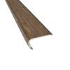 SMARTCORE by Natural Floors 1.482-in x 72-in Tahitian Walnut Vinyl Stair Nosing