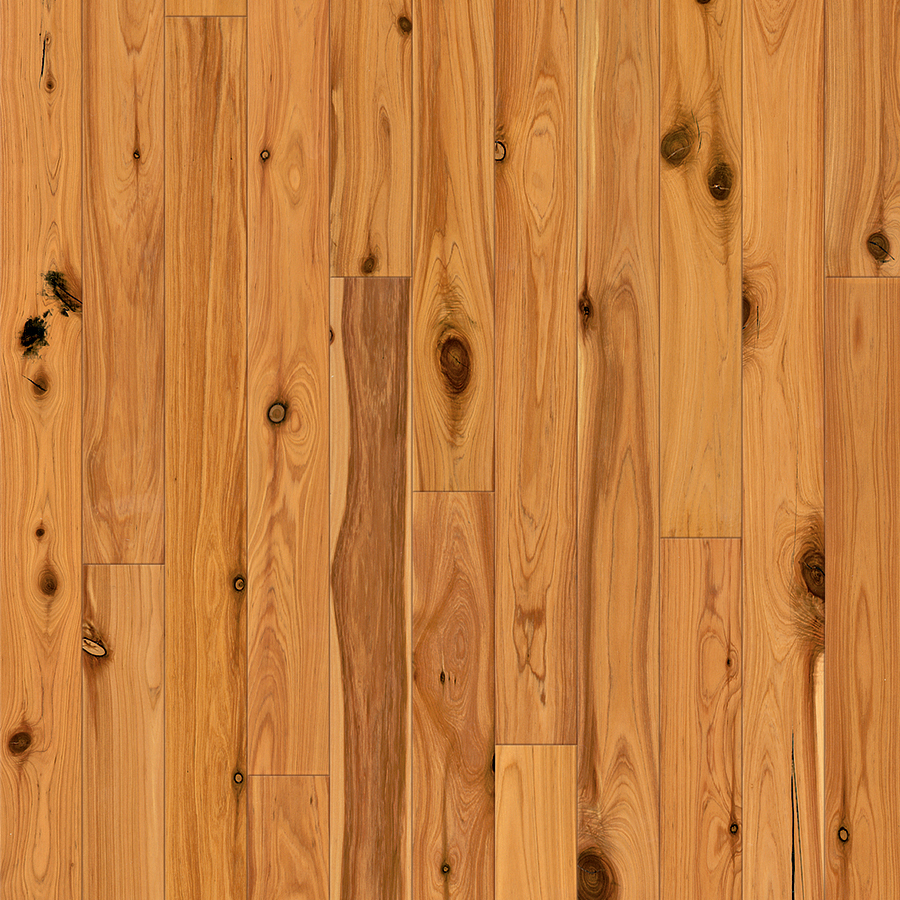 Shop natural floors by usfloors exotic w prefinished australian cypress locking hardwood - South cypress wood tile ...