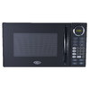 Oster 0.9-cu ft 900-Watt Countertop Microwave (Black)