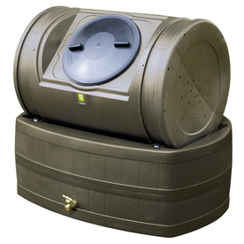 Compost Wizard 7 cu ft Plastic Combination Composter and Rain Barrel Composter