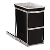 simplehuman 30-Liter Black Indoor Garbage Can