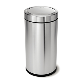 simplehuman 55-Liter Brushed Stainless Steel Trash Can