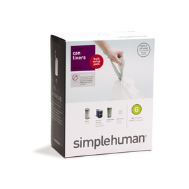 simplehuman 50-Count 8-Gallon Trash Bags