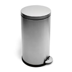 shop simplehuman 40 liter brushed ss trash can at. Black Bedroom Furniture Sets. Home Design Ideas