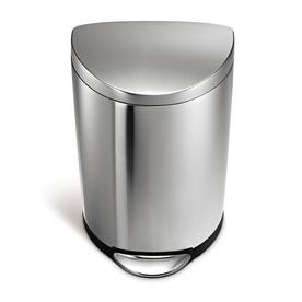 simplehuman 40-Liter Fingerprint Proof Brushed Stainless Steel Trash Can