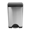 simplehuman Brushed Stainless Steel Indoor Garbage Can