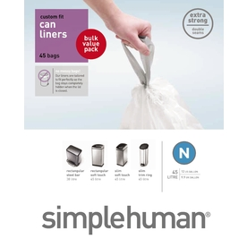 simplehuman 45-Count 12-Gallon Trash Bags