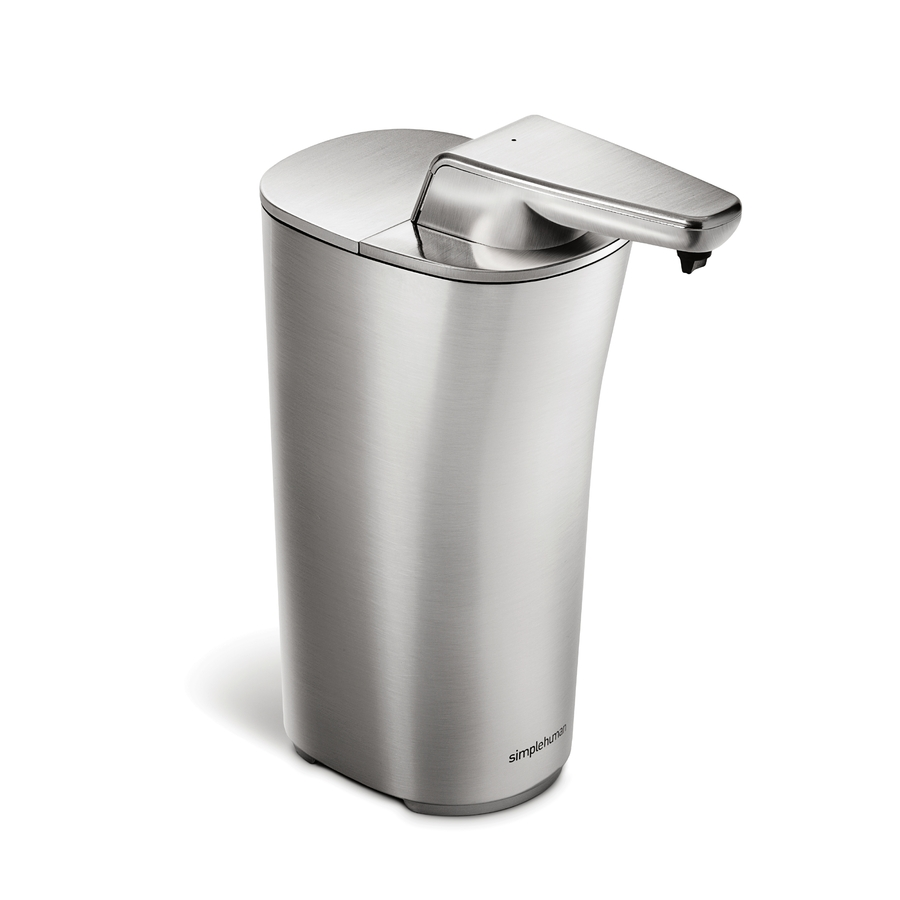 Shop Simplehuman Brushed Nickel Soap Lotion Dispenser At