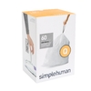 simplehuman 60-Count 17-Gallon Plastic Indoor/Outdoor Trash Bags