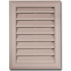 Severe Weather 15-in x 20-in White Plastic Gable Vent