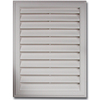 Severe Weather 20-in x 26-in White Plastic Gable Vent