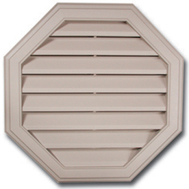 Royal 20-in x 20-in White Octagon Plastic Gable Vent
