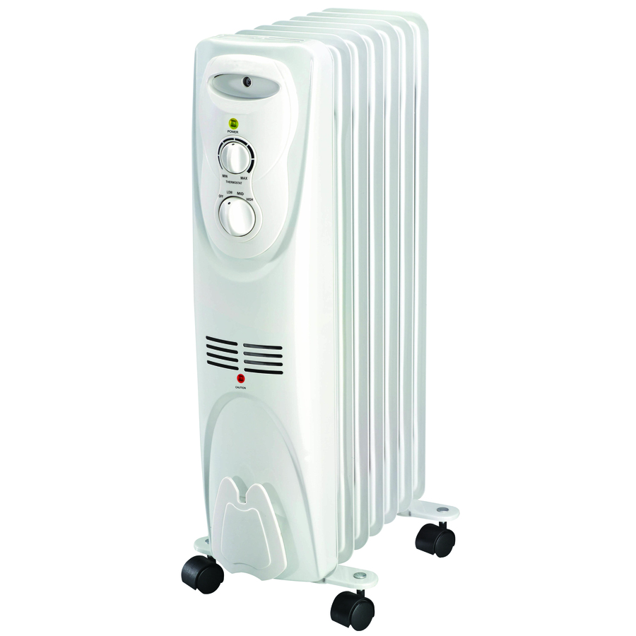 Shop Utilitech Oil-Filled Radiant Tower Electric Space Heater with