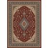 Balta 5-ft 3-in x 7-ft 6-in Red Odyssey Area Rug