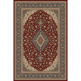 Balta 3-ft 11-in x 5-ft 6-in Red Odyssey Area Rug
