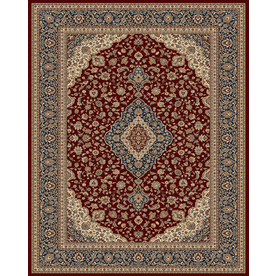 Balta Traditional-Odyssey Rectangular Indoor Woven Area Rug (Common: 8 x 11; Actual: 94-in W x 126-in L)
