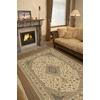 Balta Traditional-Odyssey 8-ft 10-in x 13-ft 2-in Rectangular Beige Transitional Area Rug