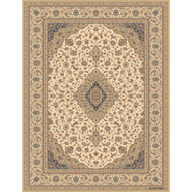 Balta Classic 9-ft 10-in x 13-ft 2-in Rectangular Beige Transitional Area Rug