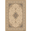 Balta Classic 3-ft 11-in x 5-ft 6-in Rectangular Beige Transitional Area Rug