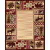 Balta 8-ft x 11-ft American Rhythm National Preserve Area Rug