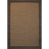 allen + roth Decora 7-ft 10-in x 10-ft 6-in Rectangular Tan Border Indoor/Outdoor Area Rug